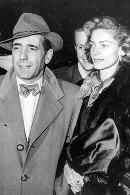Humphrey Bogart and Lauren Bacall 1951