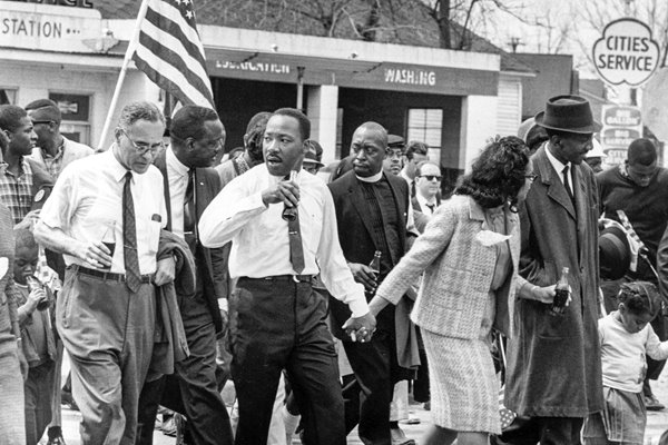 Martin Luther Kings civil rights march Selma