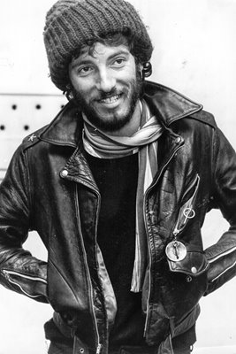 Young Bruce Springsteen 1975