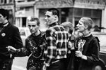 Punk Clubbers 1977 Canvas