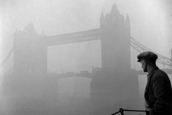 Tower Bridge, London, 1950s