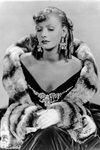 Garbo In Furs Canvas