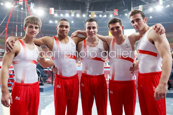 England Commonwealth Games Gymnastics 2010