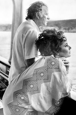 Going Forth - Liz Taylor with Richard Burton