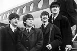 Flying Beatles 1964 Canvas
