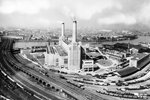 Twin Towers of Battersea Power Station 1936 Prints