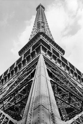 Eiffel Tower 1950