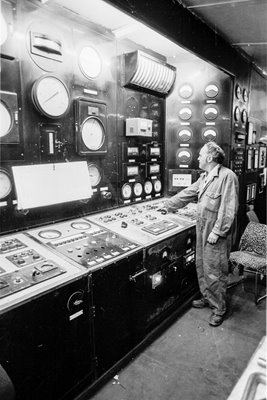 Battersea Power Station control room