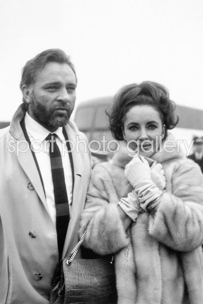 Richard Burton and Elizabeth Taylor 1966