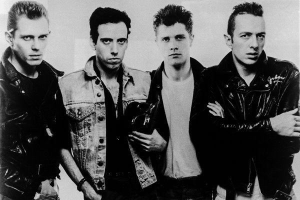 B&W Portrait Of The Clash