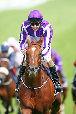 Epsom Races Joseph O'Brien Wins Investec Derby 2014