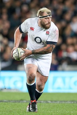 Joe Marler England v New Zealand Eden Park 2014