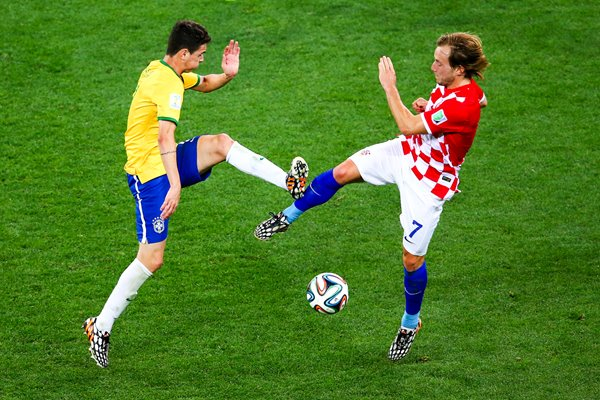 Oscar Brazil & Rakitic Croatia 2014 World Cup