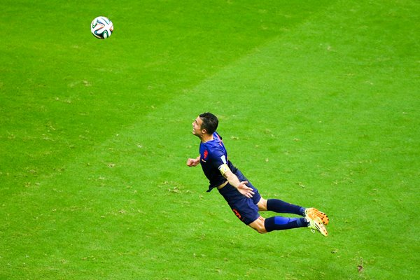 Robin van Persie goal v Spain 2014 World Cup