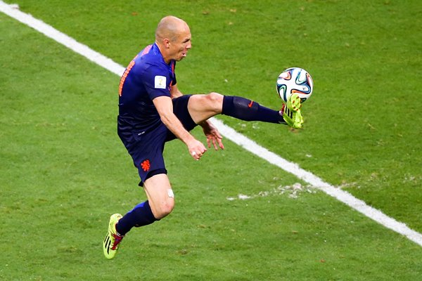 Arjen Robben v Spain 2014 World Cup