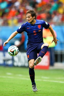 Daley Blind Netherlands v Spain World Cup 2014