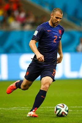 Ron Vlaar Netherlands v Spain 2014 World Cup