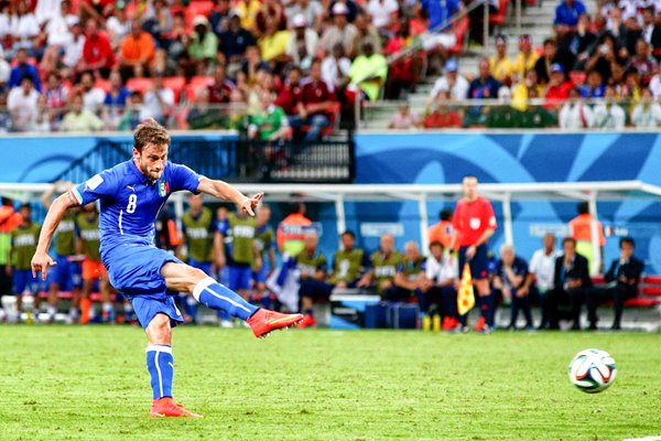 Claudio Marchisio Italy 2014 World Cup
