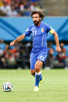 Andrea Pirlo of Italy 2014 World Cup