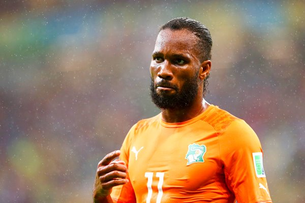 Didier Drogba of the Ivory Coast 2014 World Cup