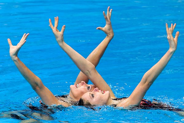 Commonwealth Games 2010 - Synchronized Swimming