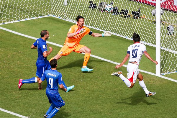 Bryan Ruiz of Costa Rica v Italy 2014 World Cup