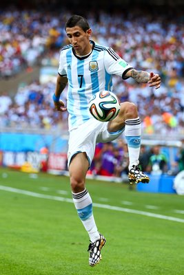 Angel di Maria Argentina 2014 World Cup