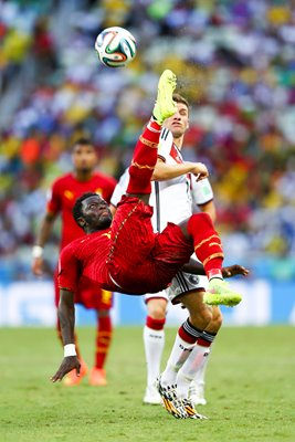 Sulley Muntari Ghana overhead kick v Germany
