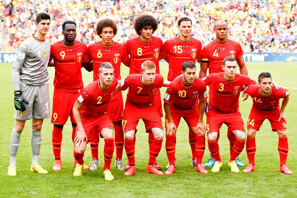Belgium team photo 2014 World Cup