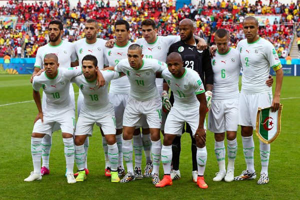 Algeria Team 2014 World Cup