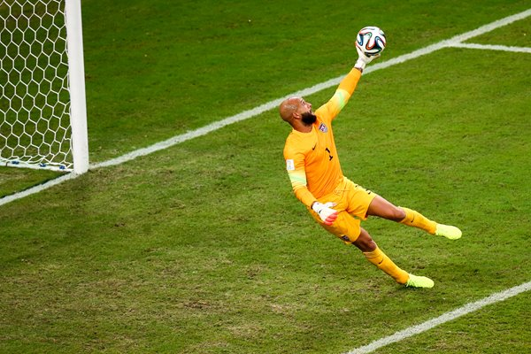 Tim Howard save v Portugal 2014 World Cup