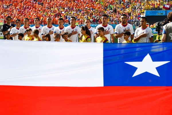 Chile line up 2014 World Cup