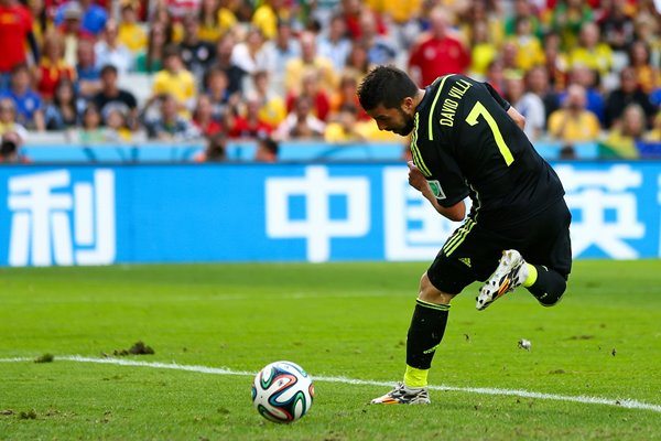 David Villa back heel goal 2014 World Cup