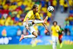 Neymar Brazil 2014 World Cup Canvas