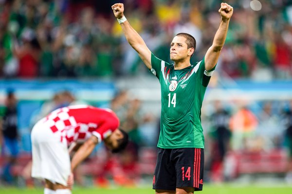 Javier Hernandez Mexico 2014 World Cup