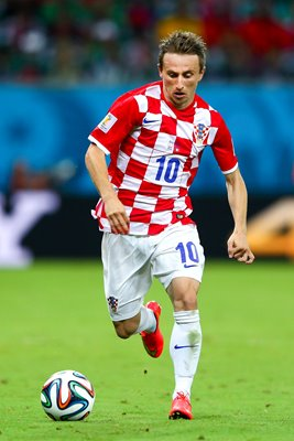 Luka Modric Croatia 2014 World Cup