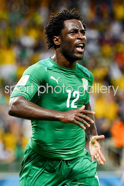 Wilfried Bony Cote D'Ivoire 2014 World Cup