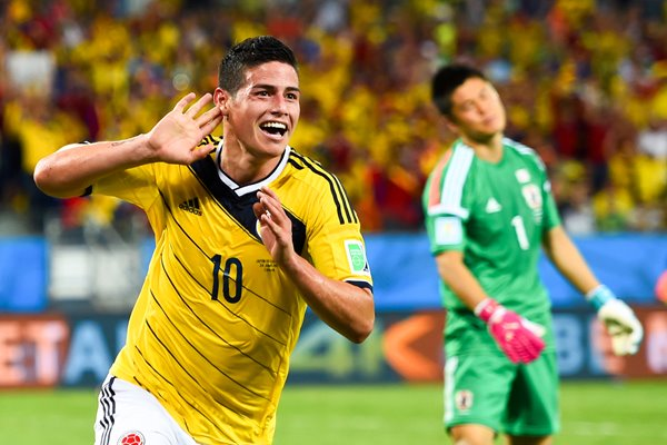 James Rodriguez Colombia 2014 World Cup