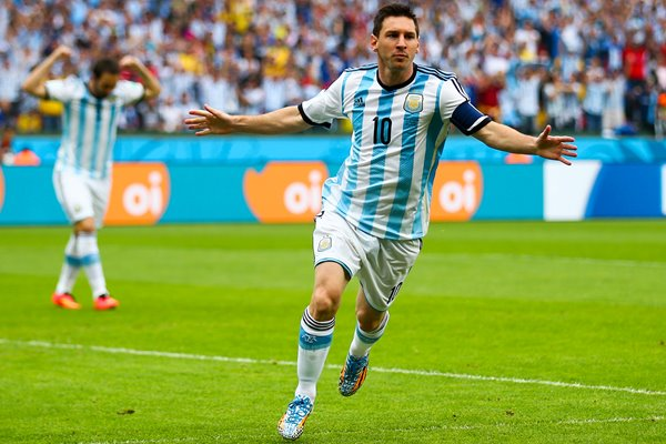 Lionel Messi Argentina 2014 World Cup
