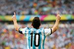 Lionel Messi Argentina 2014 World Cup Prints