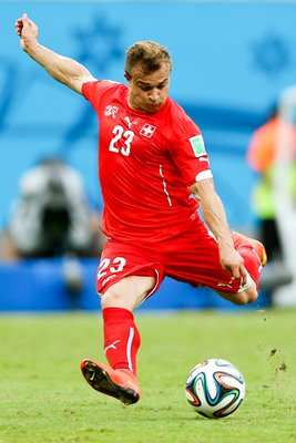 Xherdan Shaqiri Switzerland 2014 World Cup