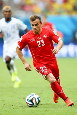 Xherdan Shaqiri Hattrick Switzerland 2014 World Cup