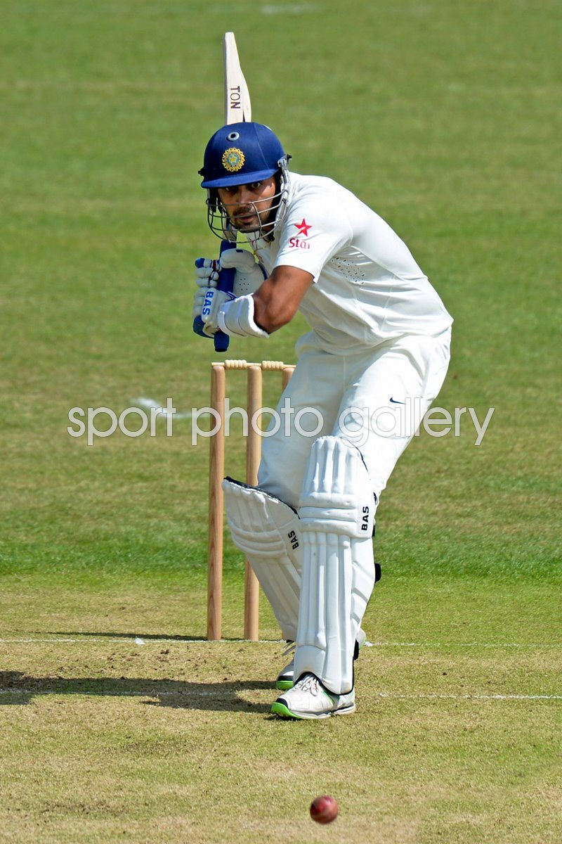 Murali Vijay Leicestershire v India - Tour Match 2014