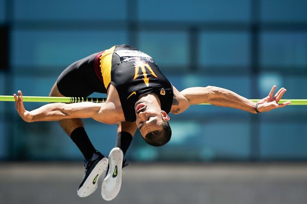 Bryan McBride USA High Jump TF Outdoor Championships 2014