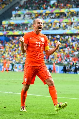 Arjen Robben Netherlands 2014 World Cup