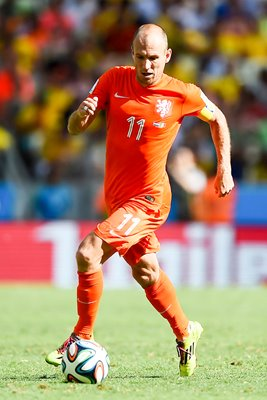 Arjen Robben Holland 2014 World Cup