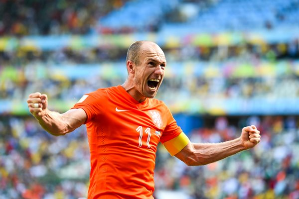 Arjen Robben of the Netherlands 2014 World Cup