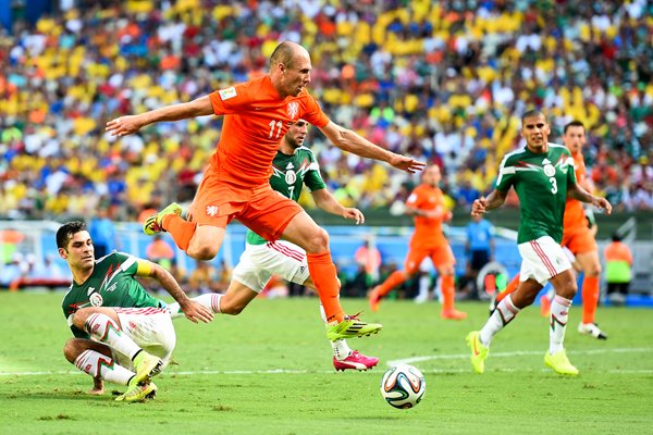 Arjen Robben v Mexico 2014 World Cup