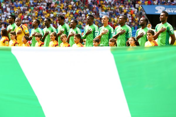 Nigeria line up 2014 World Cup