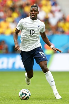 Paul Pogba France 2014 World Cup